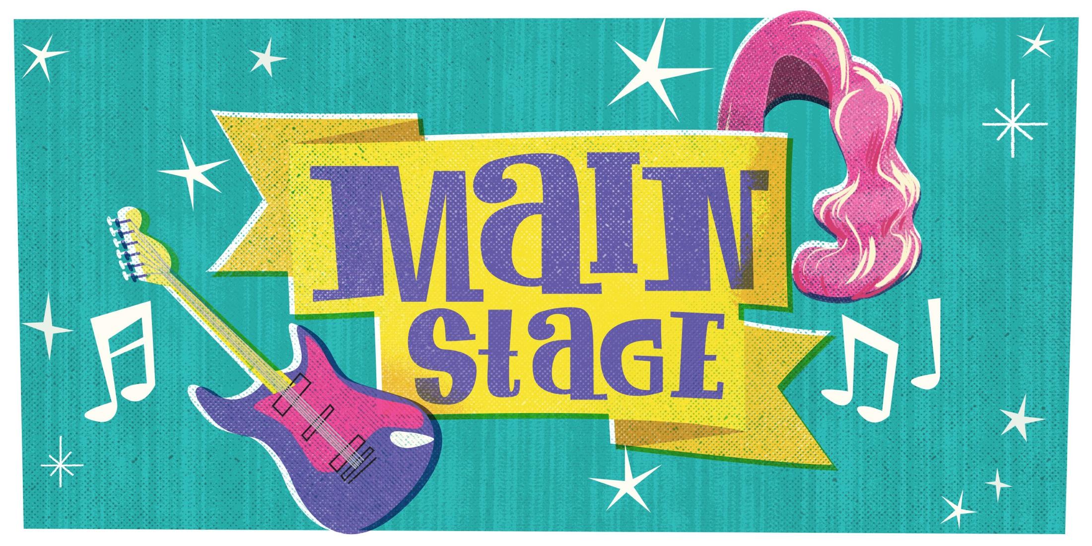 Main Stage - Castro Street Fair