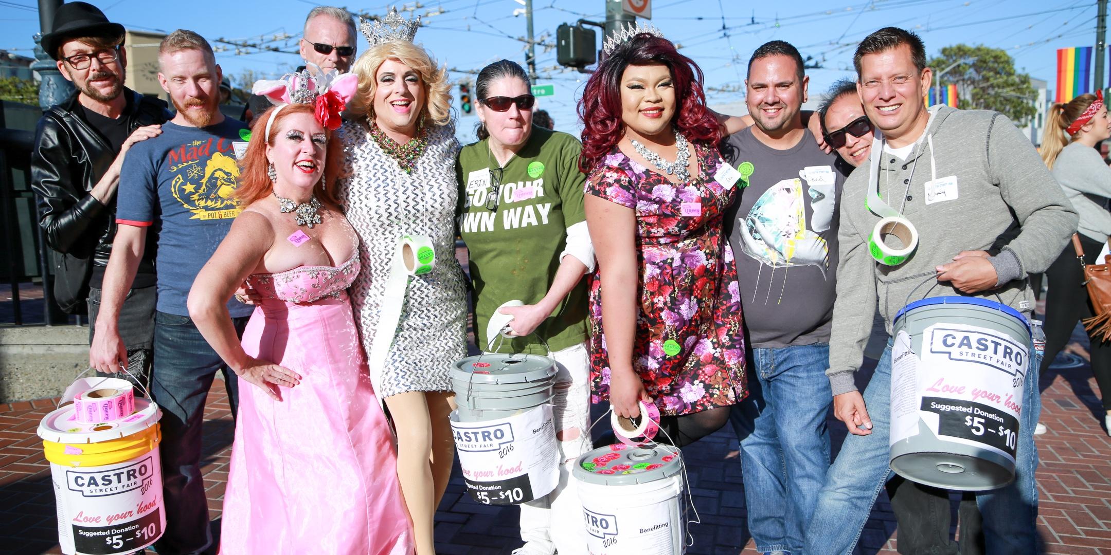 Castro Street Fair Volunteers