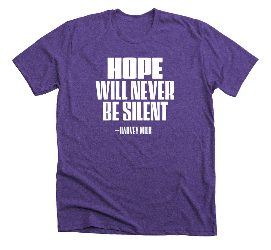 Hope will never be silent tshirt